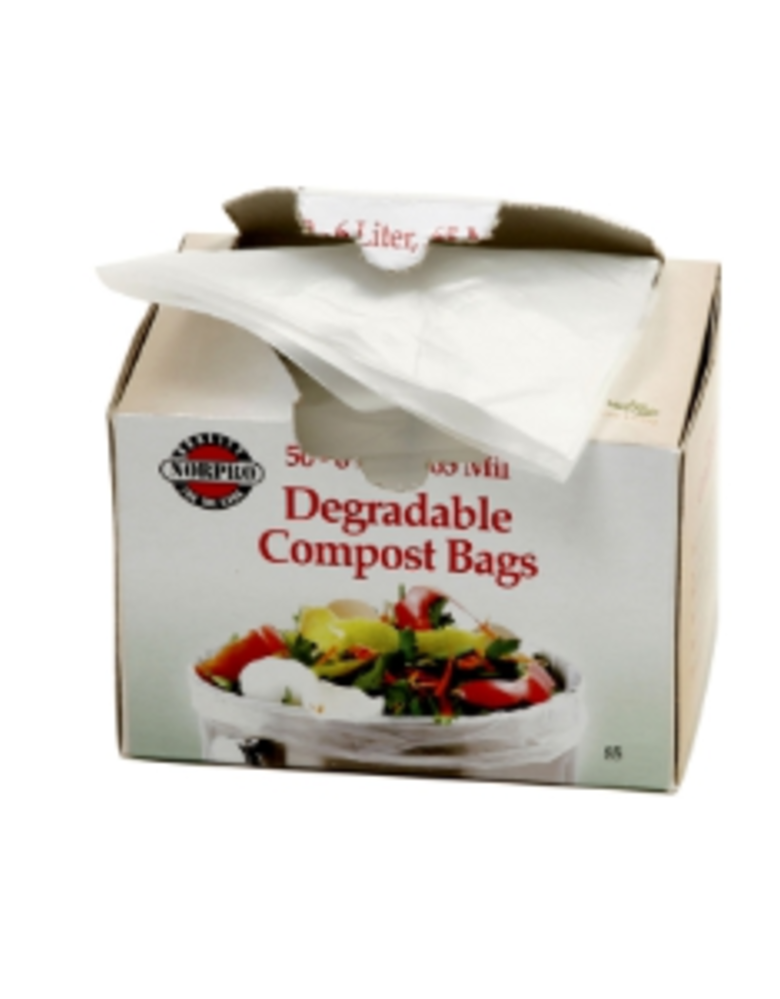 Norpro Degradable Compost Bags 50ct