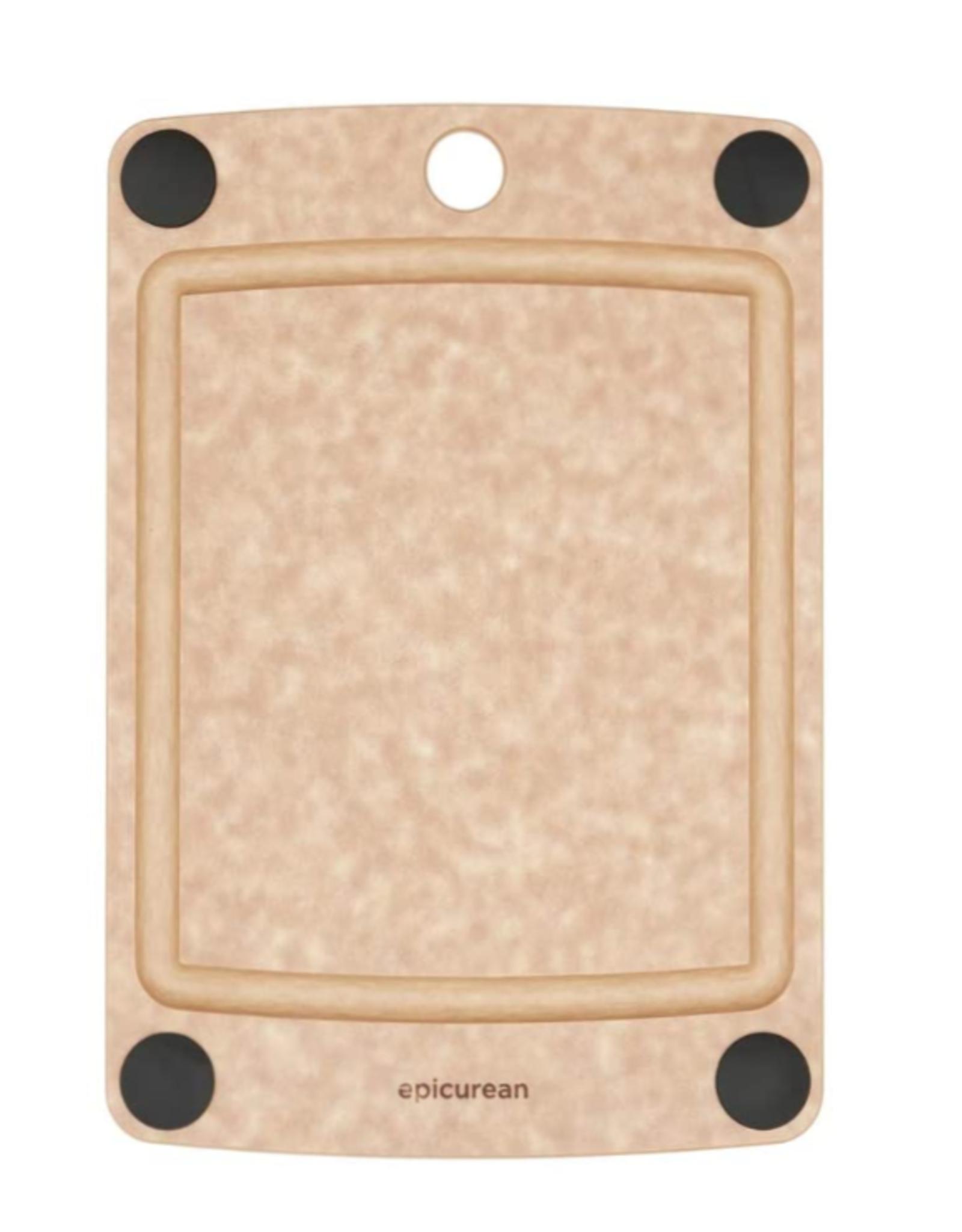 Epicurean All In One Cutting Board 10x7 Natural/Black