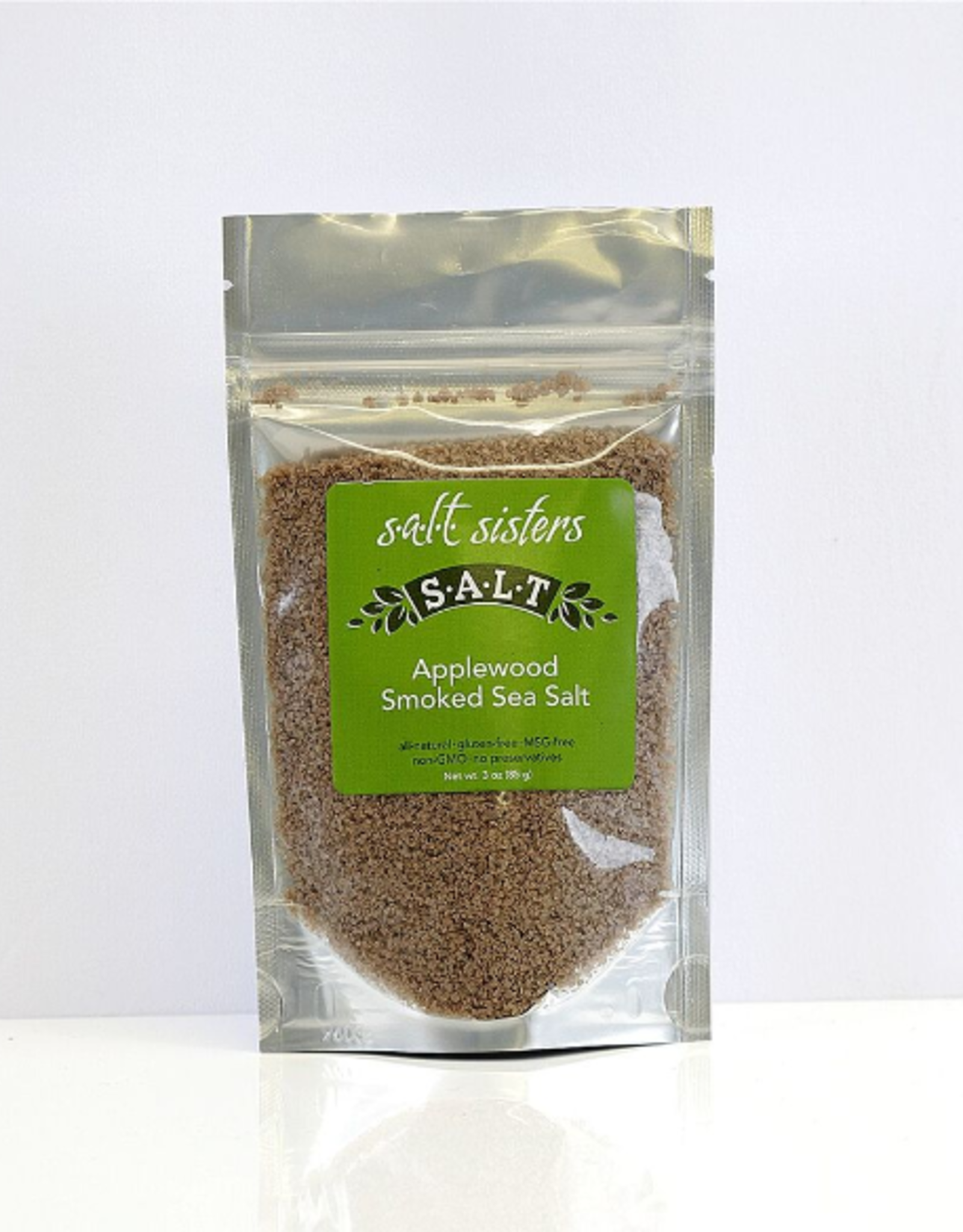 Salt Sisters Applewood Smoked Sea Salt
