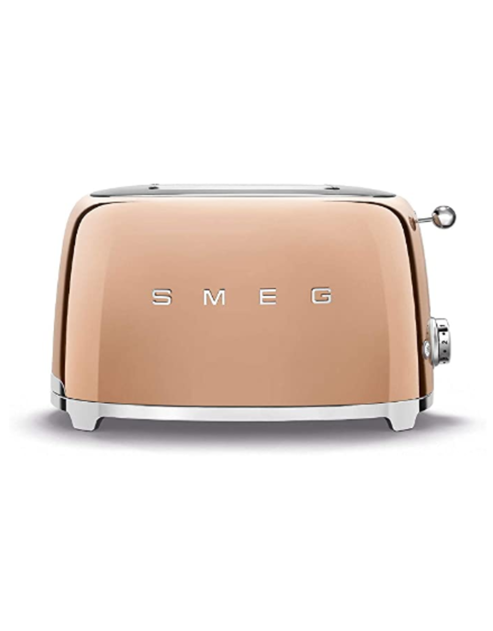 Smeg 2 Slice Toaster, Rose Gold