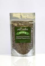 Salt Sisters Applewood Smoked Cracked Peppercorns