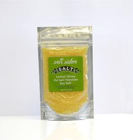Salt Sisters Hawaiian Lemon Sea Salt, Coarse