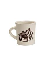 ORE Originals Cuppa This Cuppa Mug, Log Cabin