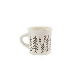 ORE Originals Cuppa This Cuppa Mug, Pine Trees