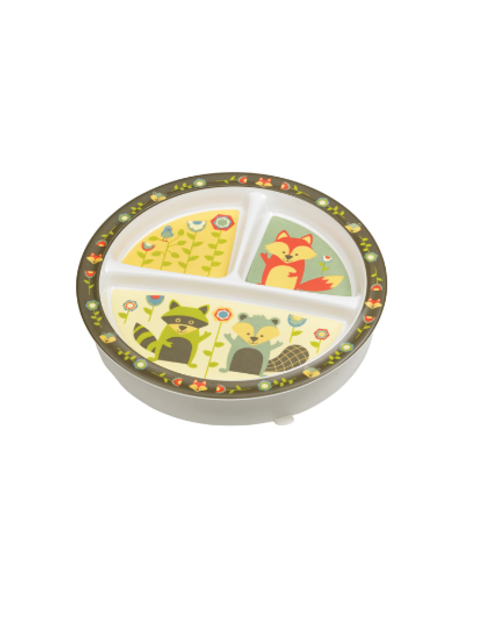 ORE Originals Divided Suction Plate, What did the Fox Eat?