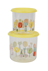 ORE Originals Snack Container S/2, Large, Go Kitty