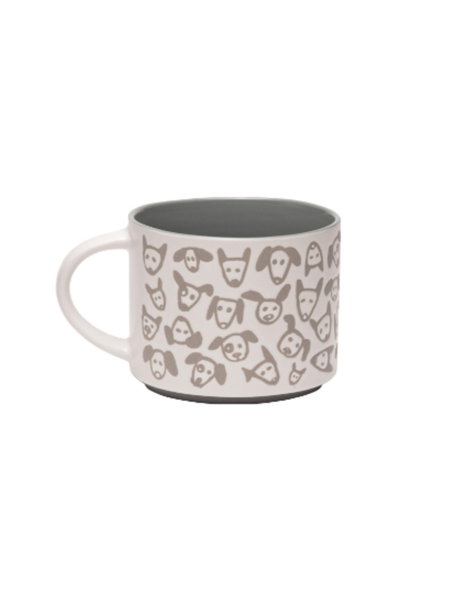 ORE Originals Pop of Color Mug, Doodle Dog