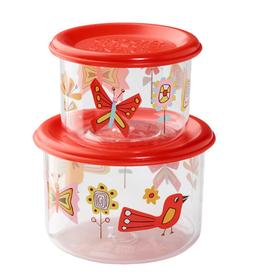 ORE Originals Snack Container S/2, Small, Birds & Butterflies