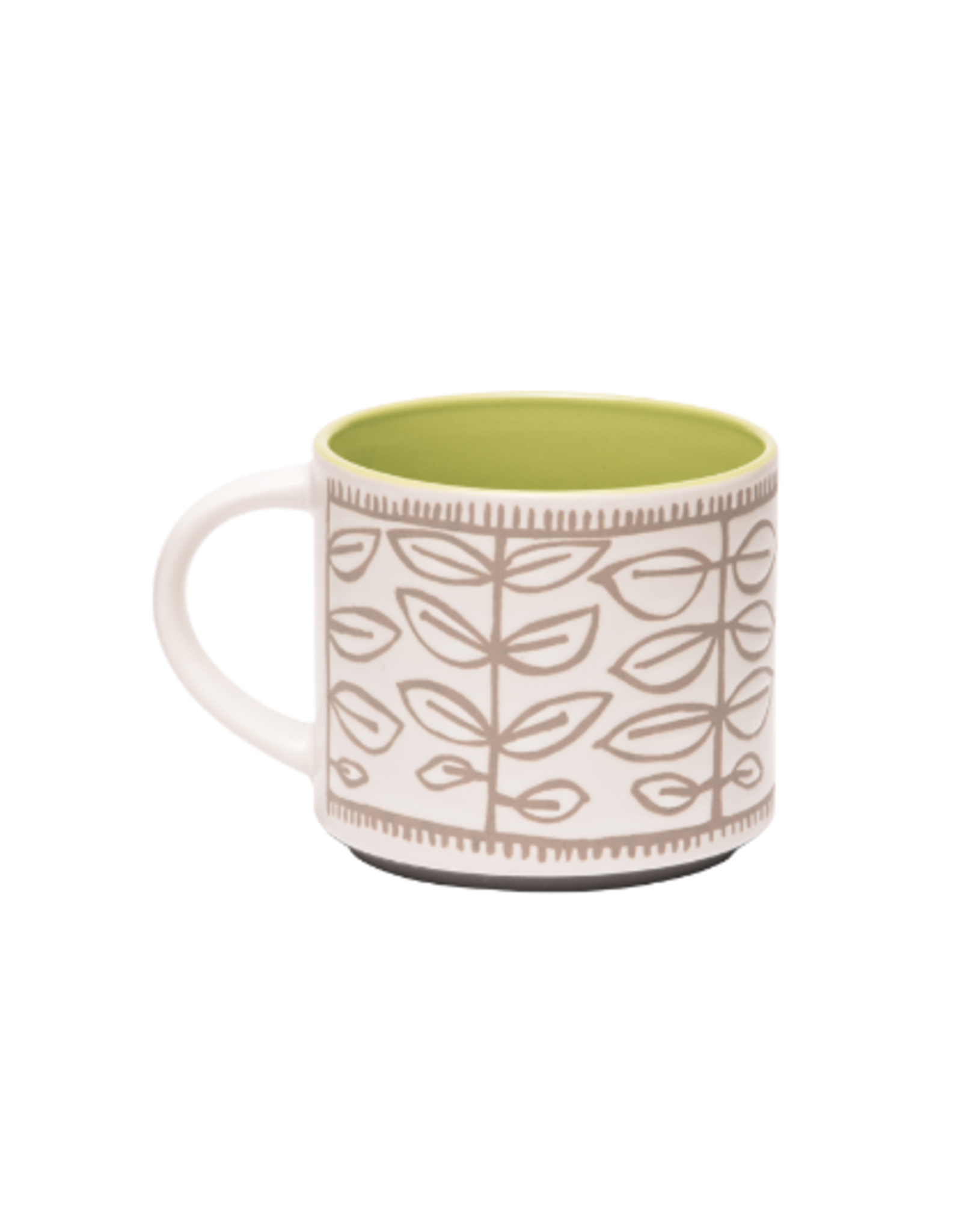 ORE Originals Pop of Color Mug, Tea Leaf