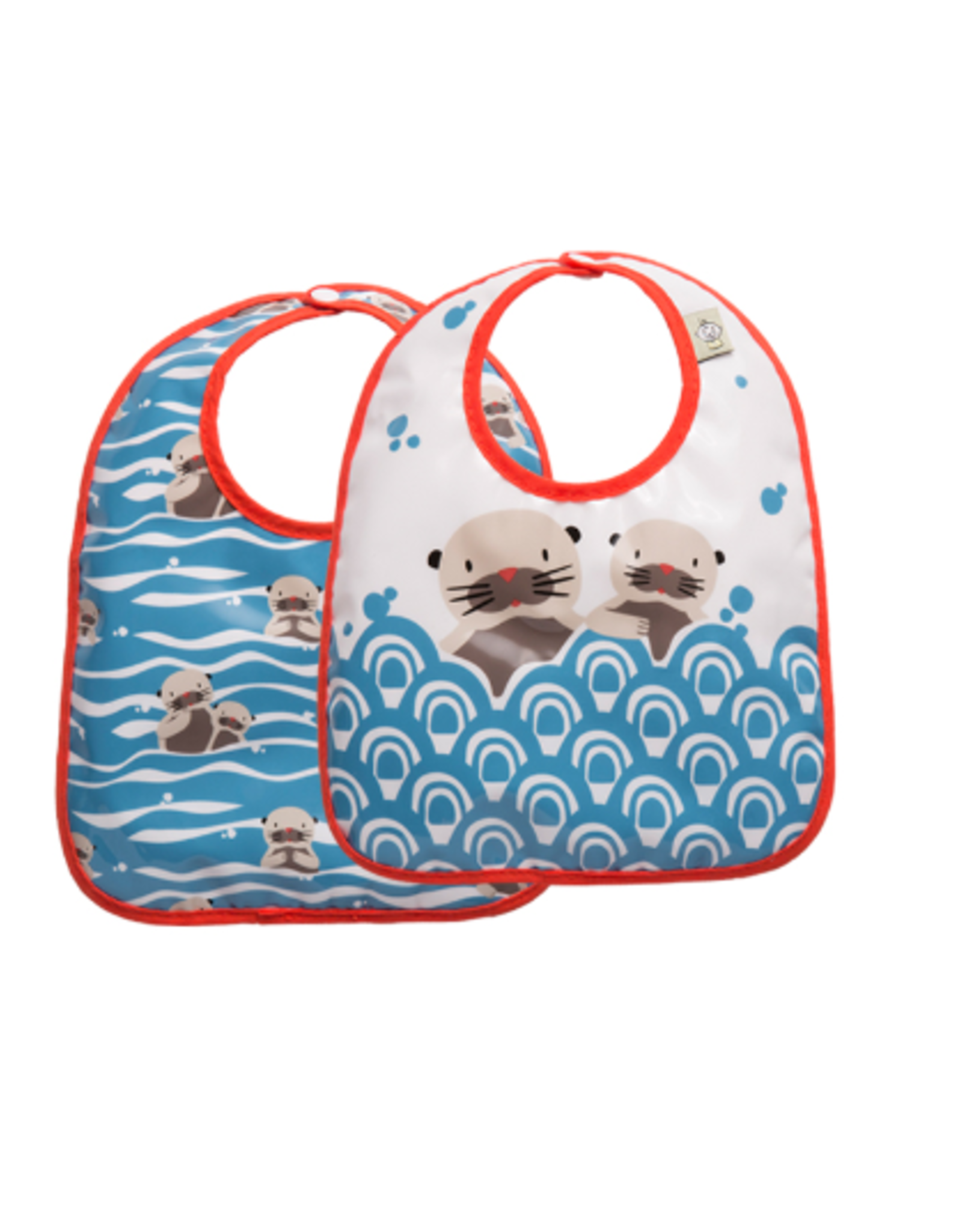 ORE Originals Mini Bib Set/2, Baby Otter