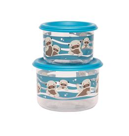 ORE Originals Snack Container S/2, Small, Baby Otter