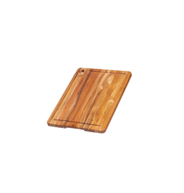 Teak Haus Corner Hole and Juice Groove 16x12x.75