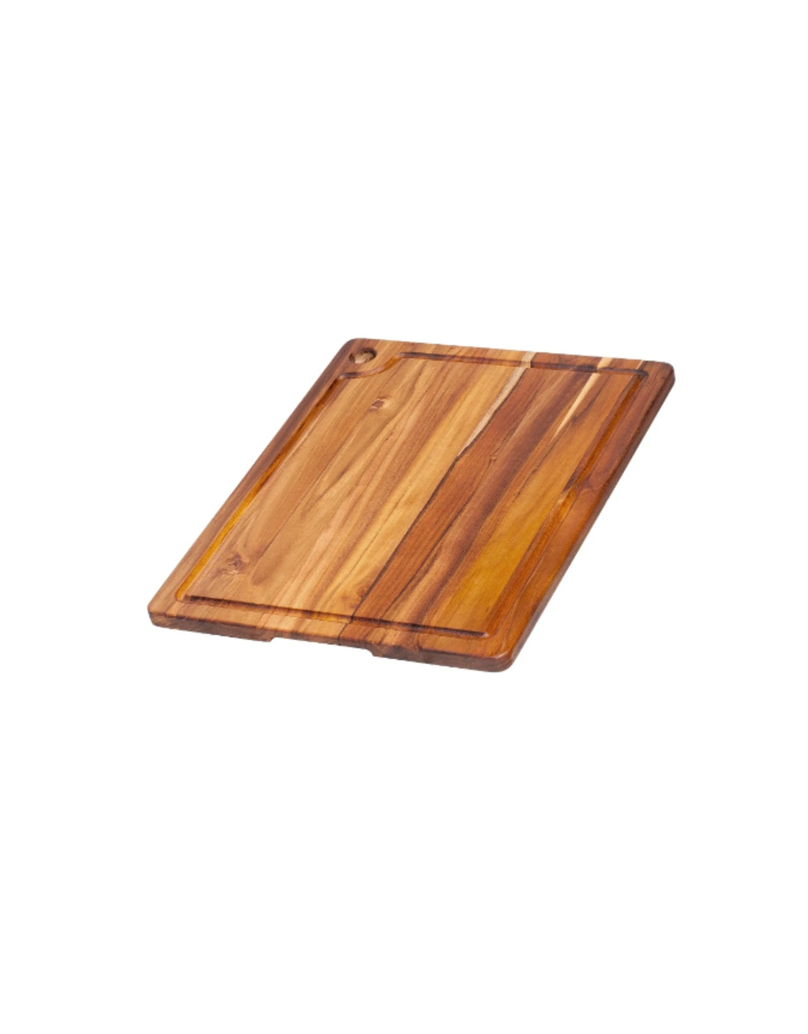 Teak Haus Corner Hole and Juice Groove 18x14x.75