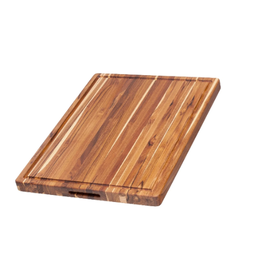 Teak Haus Rectangle w/ Hand Grip & Juice Canal, 24x18x1.5