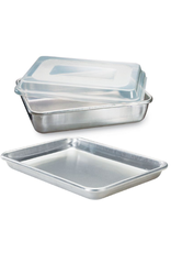 Nordicware 3-pc Baker's Set, 9x13 & 1/4 Sheet w/ Lid
