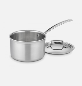 Cuisinart 3 Qt Saucepan, Multi-Clad Pro