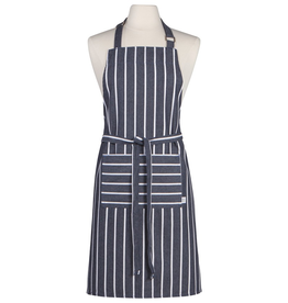 Now Designs Apron, Navy Butcher Stripe