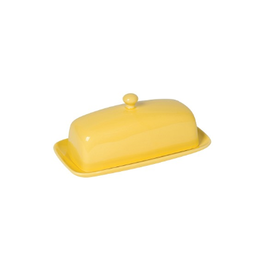 Now Designs Butter Dish, Lemon