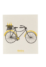 Now Designs Danica Swedish Dishcloth, Bicicletta