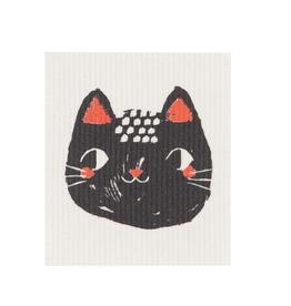 Now Designs Swedish Dishcloth, Meow Meow