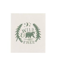 Now Designs Swedish Dishcloth, Wild & Free