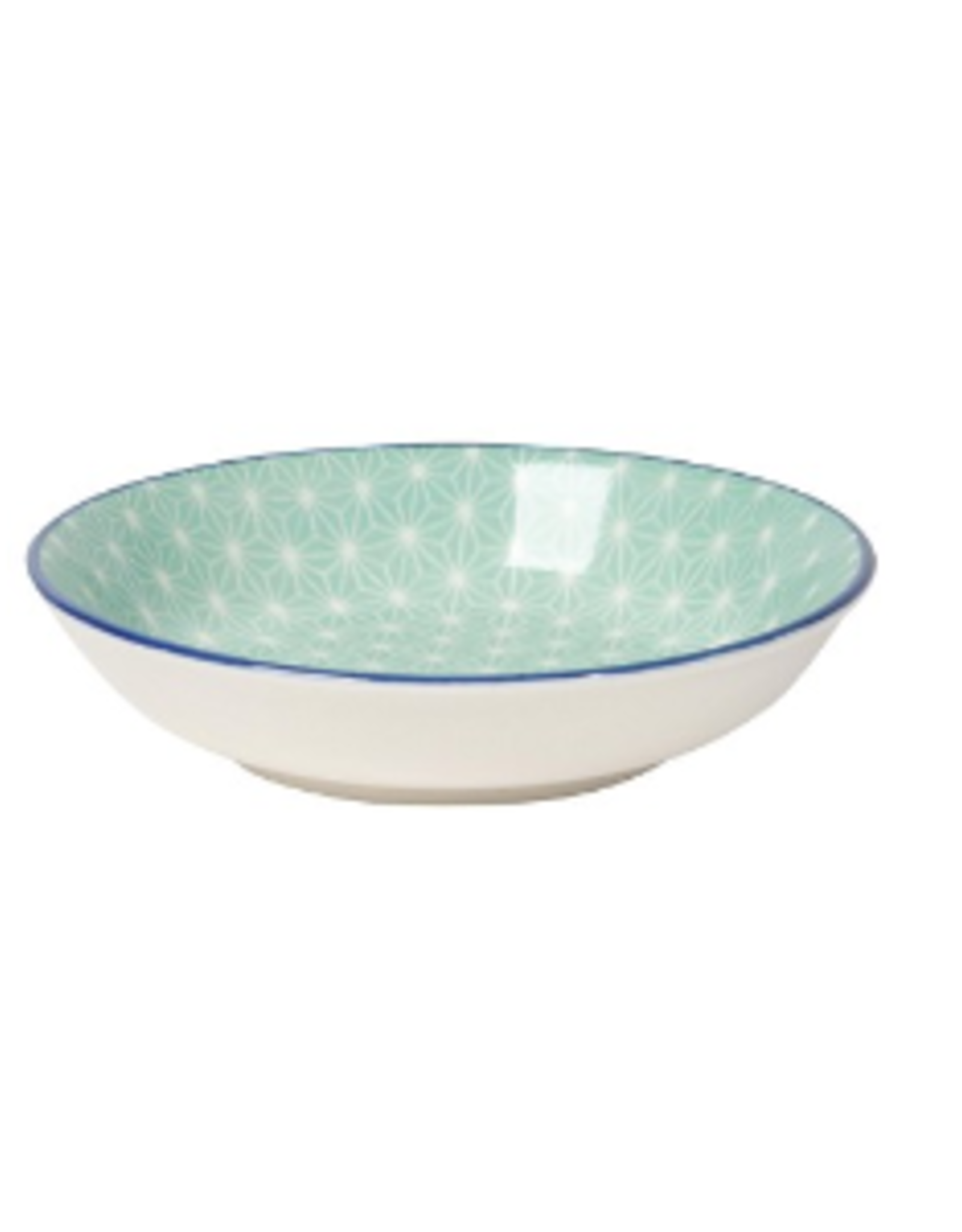 Now Designs Dipper Bowl, Aqua Stars