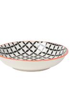 Now Designs Dipper Bowl, Black Lattice