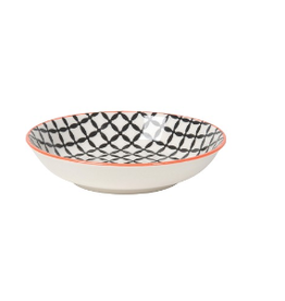 Now Designs Dipper Bowl, Black Lattice
