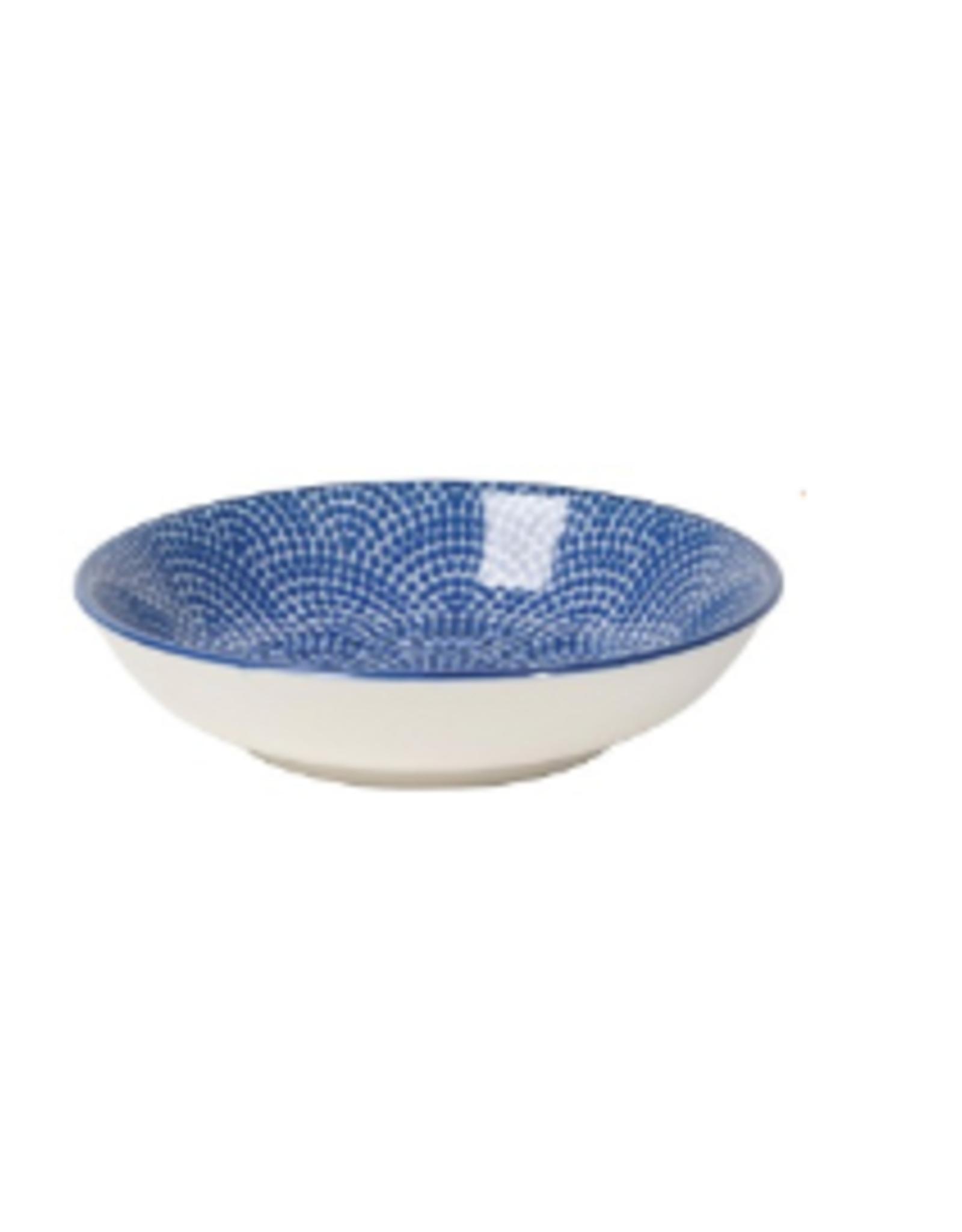 Now Designs Dipper Bowl, Blue Waves