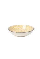 Now Designs Dipper Bowl, Yellow Diamonds