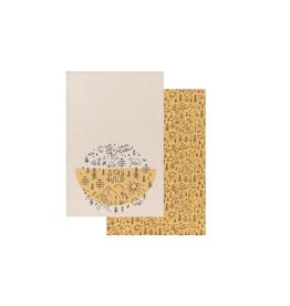 Now Designs Dishtowel Set/2, Stay Wild