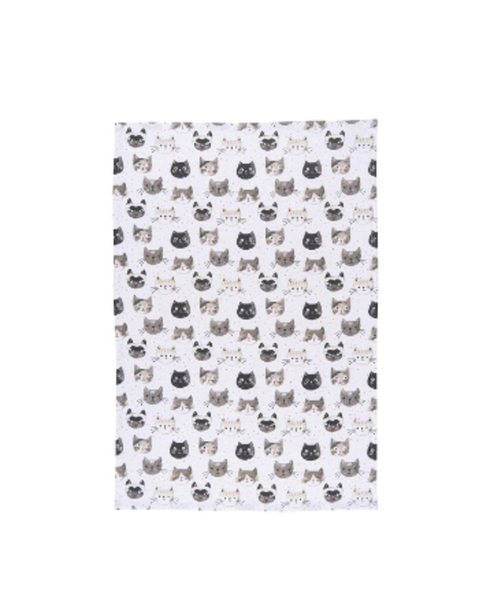 Now Designs Dishtowel, Cats Meow