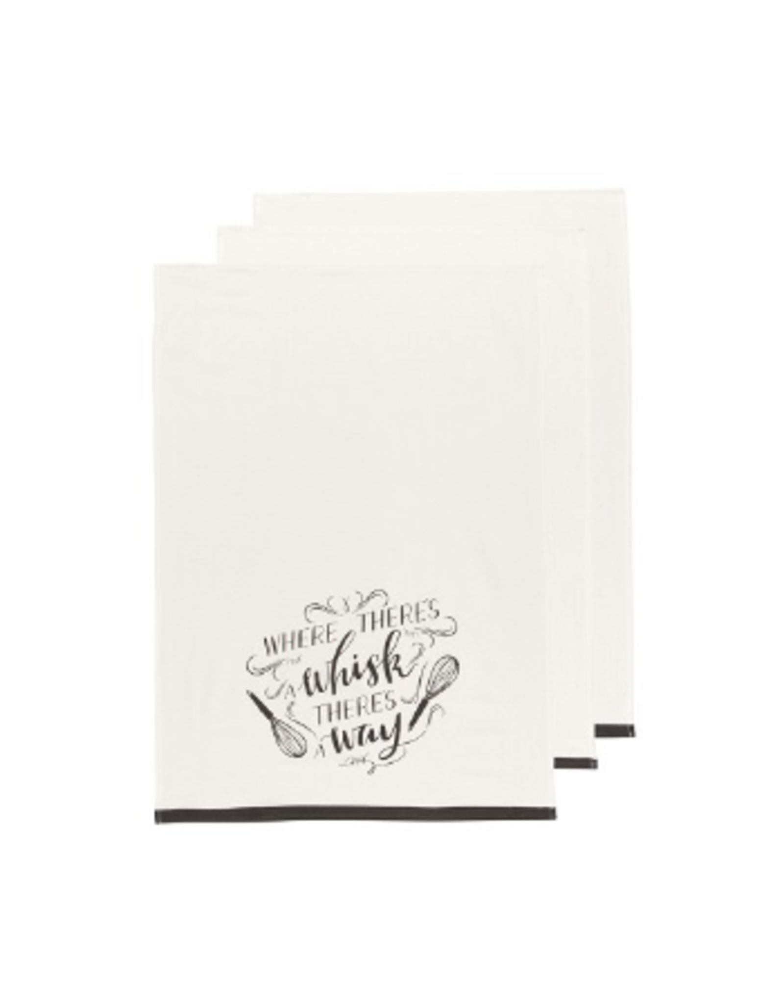 Now Designs Floursack Dishtowel set/3, Homemade Happiness