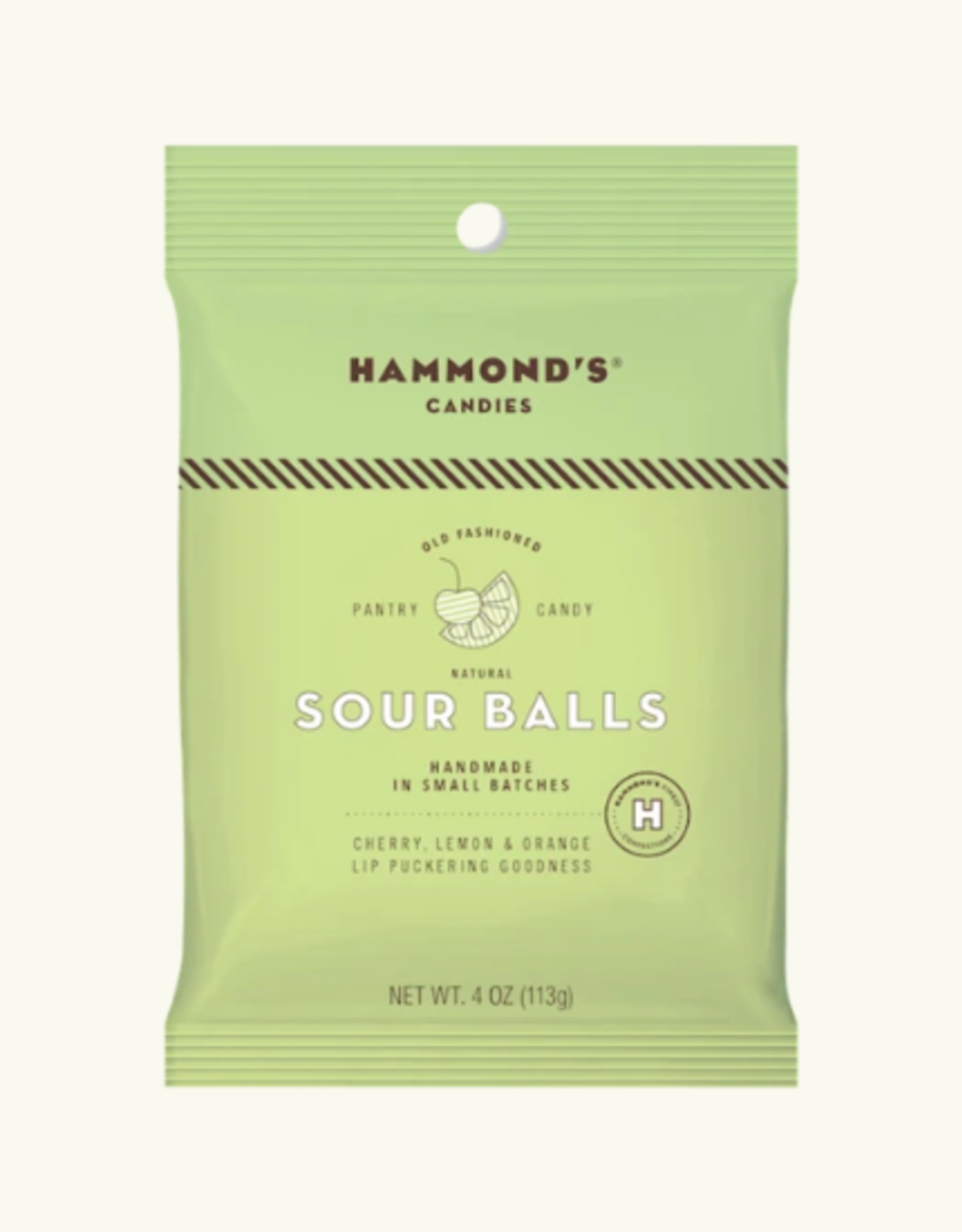 Hammond's Hard Candy Bag, Sour Balls