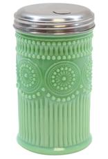 Tablecraft Jadeite Glass 10oz Sugar Shaker