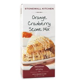 Stonewall Kitchen Orange Cranberry Scone w/ Orange Glaze Mix
