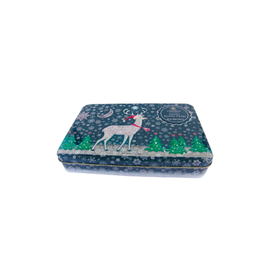 Great Scot International Fudge Reindeer Tin, Vanilla