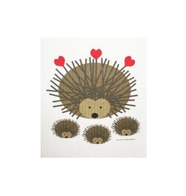 Cose Nuove Swedish Dishcloth, Hedgehogs, All Year