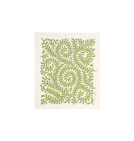 Cose Nuove Swedish Dishcloth, Leaves, green, All Year
