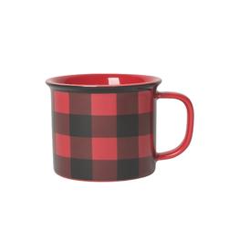 Now Designs Mug, Buffalo Check