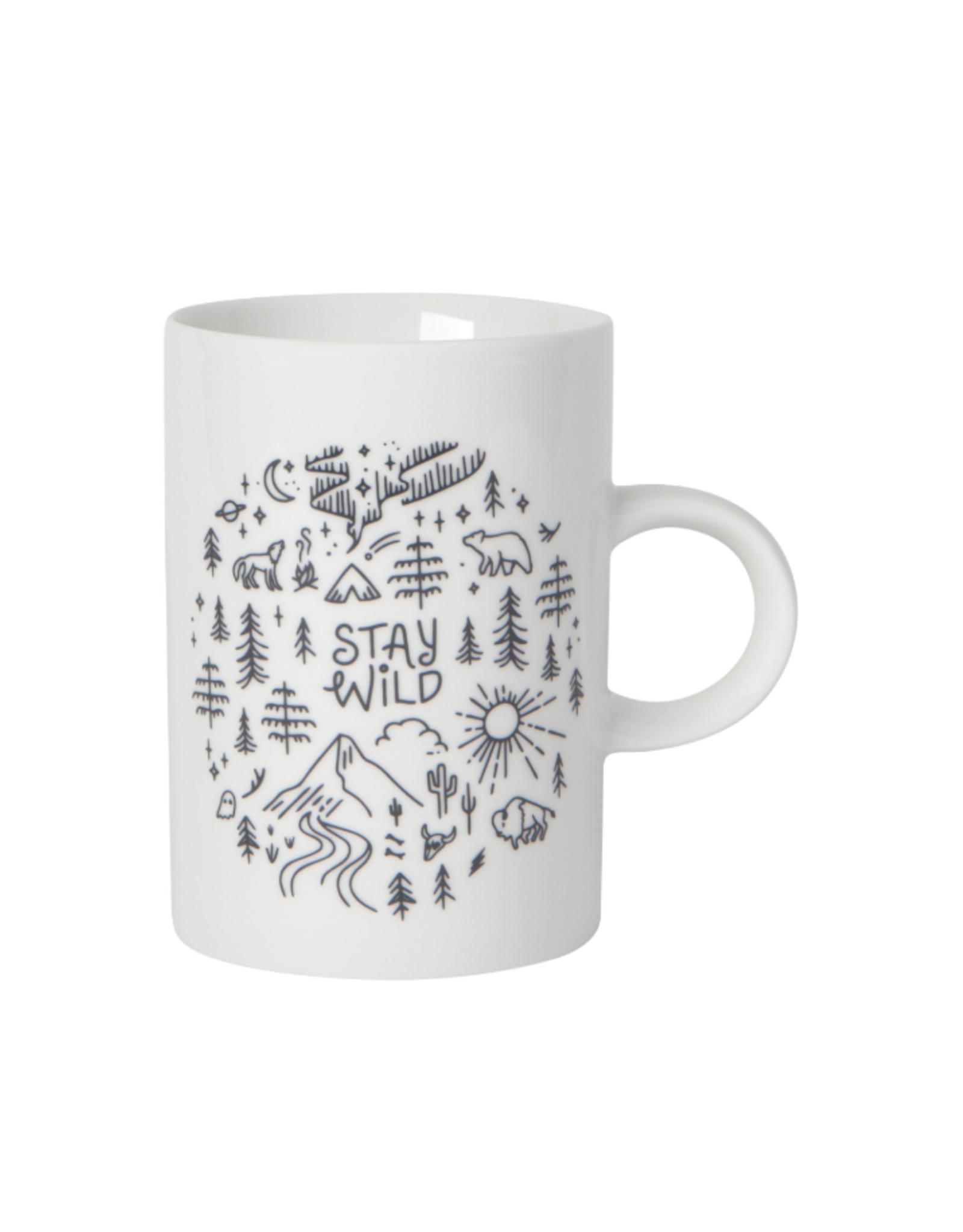 Now Designs Mug, Tall, Stay Wild