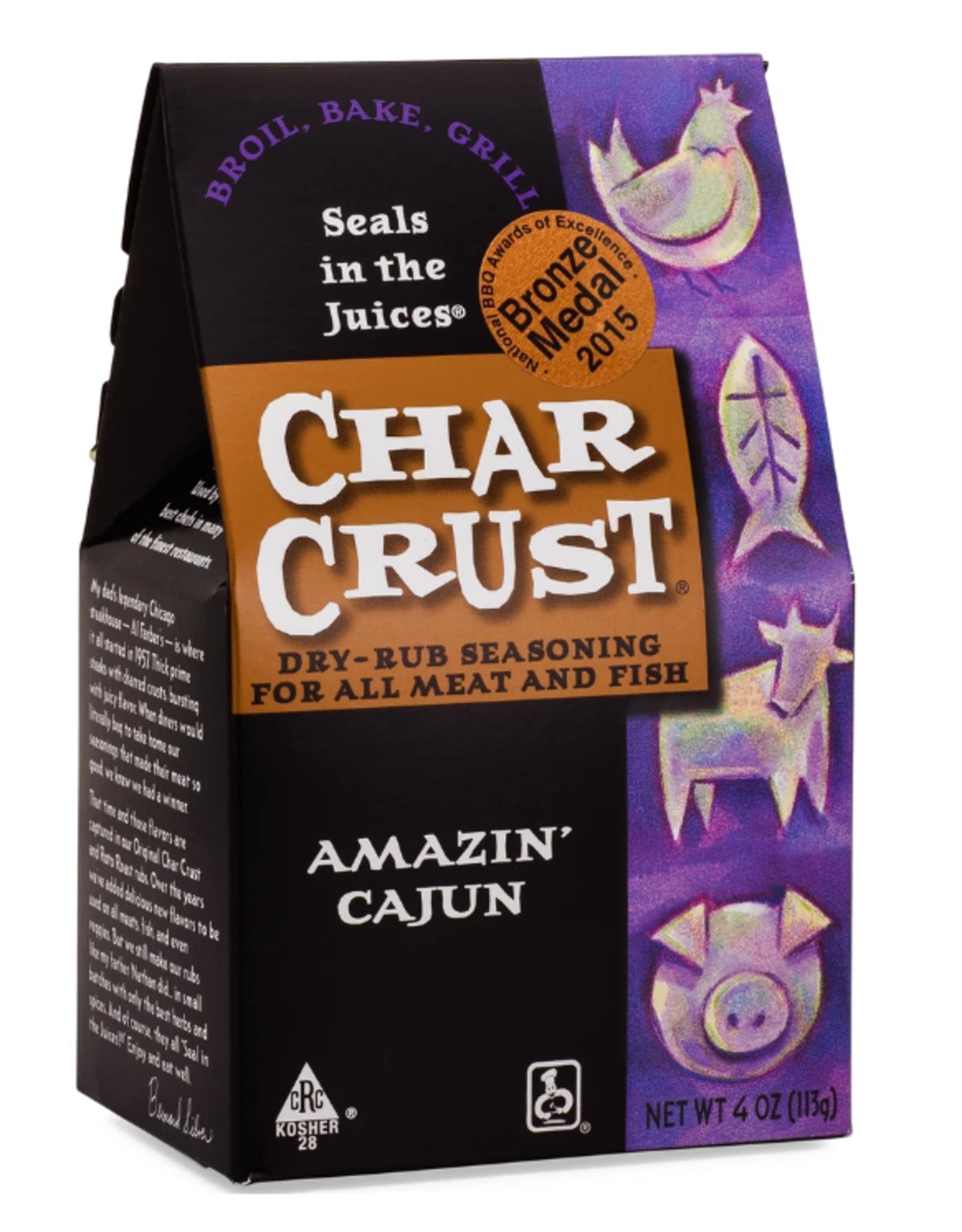 Charcrust Charcrust Rub, Amazin' Cajun