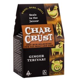 Charcrust Charcrust Rub, Ginger Teriyaki