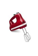 KitchenAid KA 5-Speed Ultra Hand Mixer, Empire Red