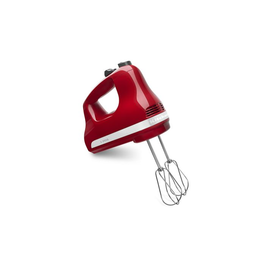 KitchenAid KA 5-Speed Ultra Hand Mixer, Empire Red