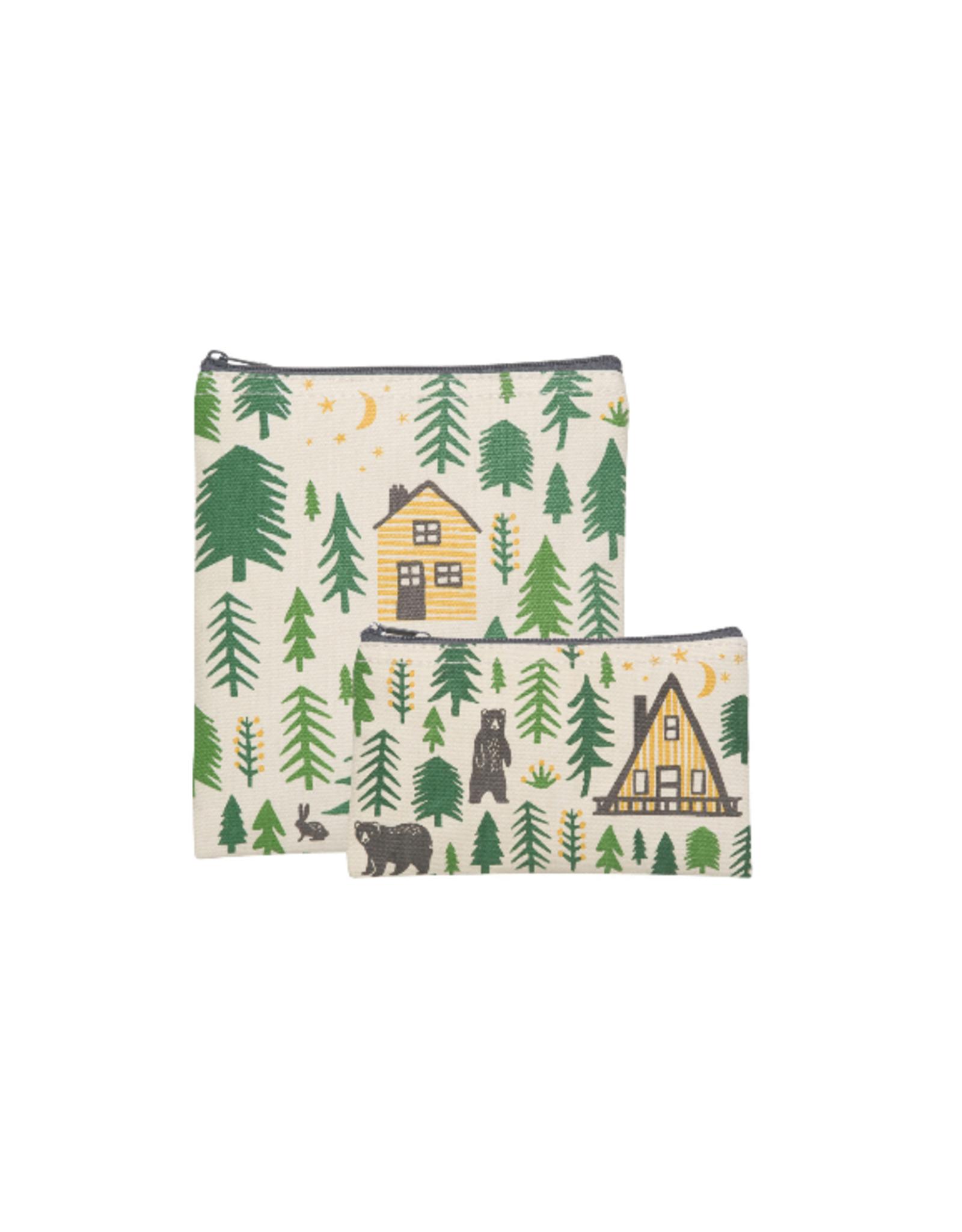 Now Designs Snack Bag, Set 2, Wild & Free