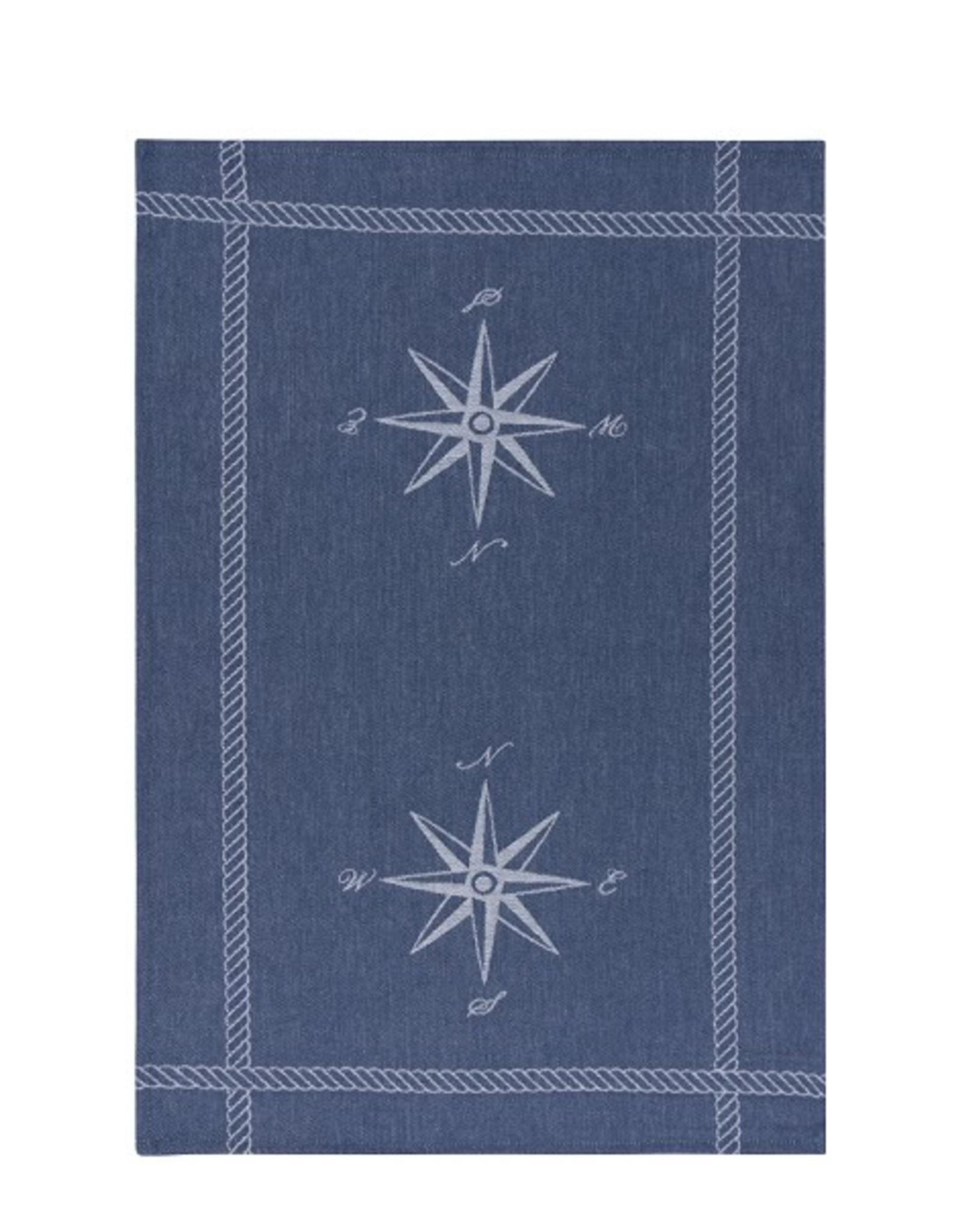 Now Designs S20 Jacquard Dishtowel, Compass