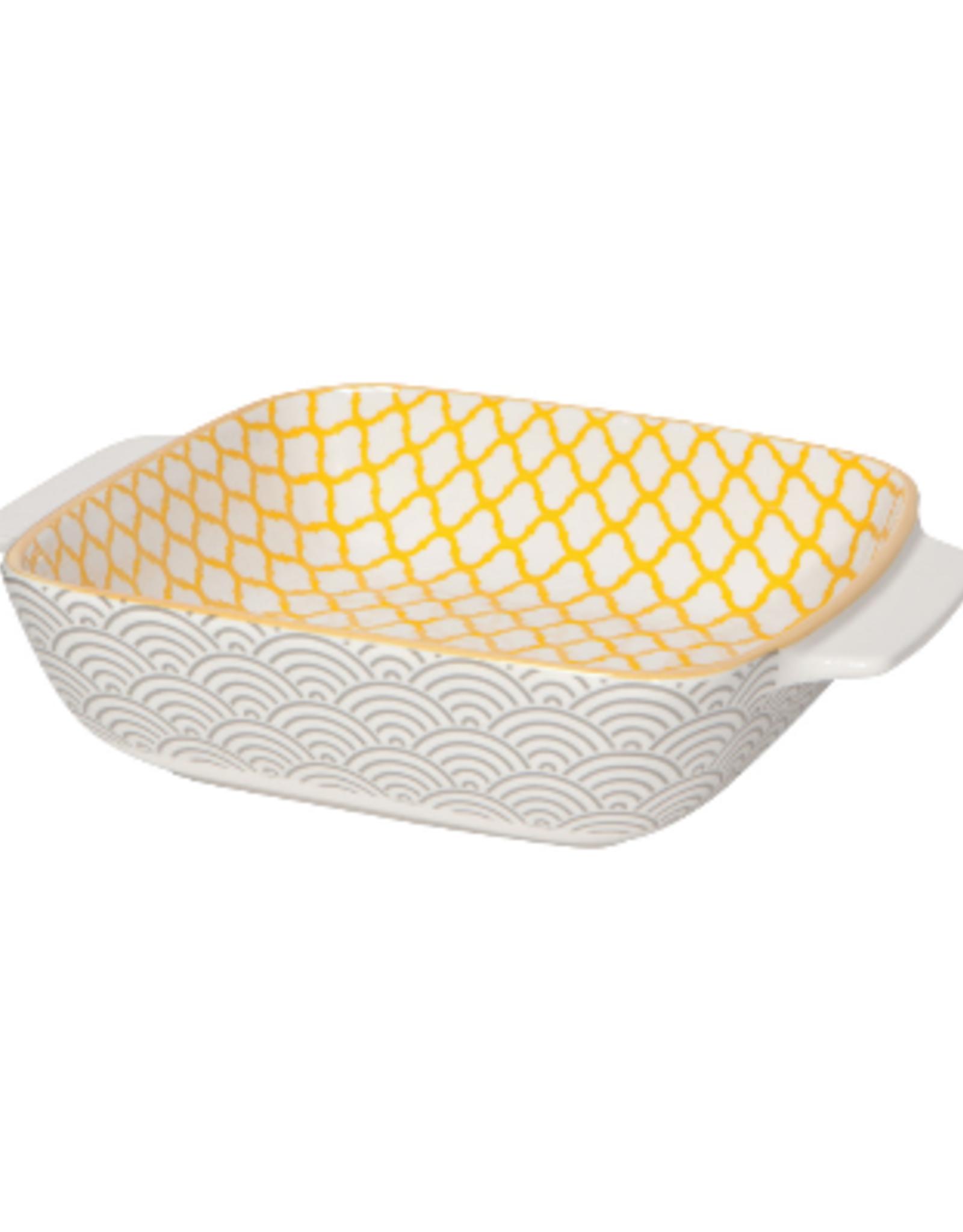 Now Designs S19 Square Baking Dish, Sunstone, Lg