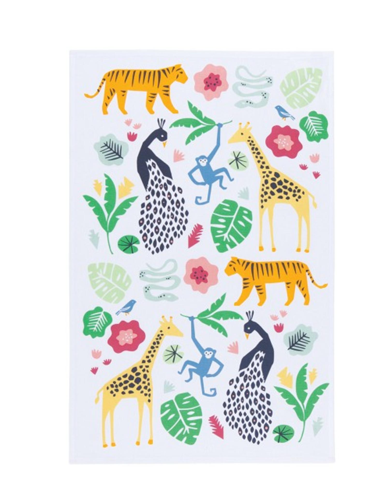 Now Designs S19 Dishtowel, Wild Bunch