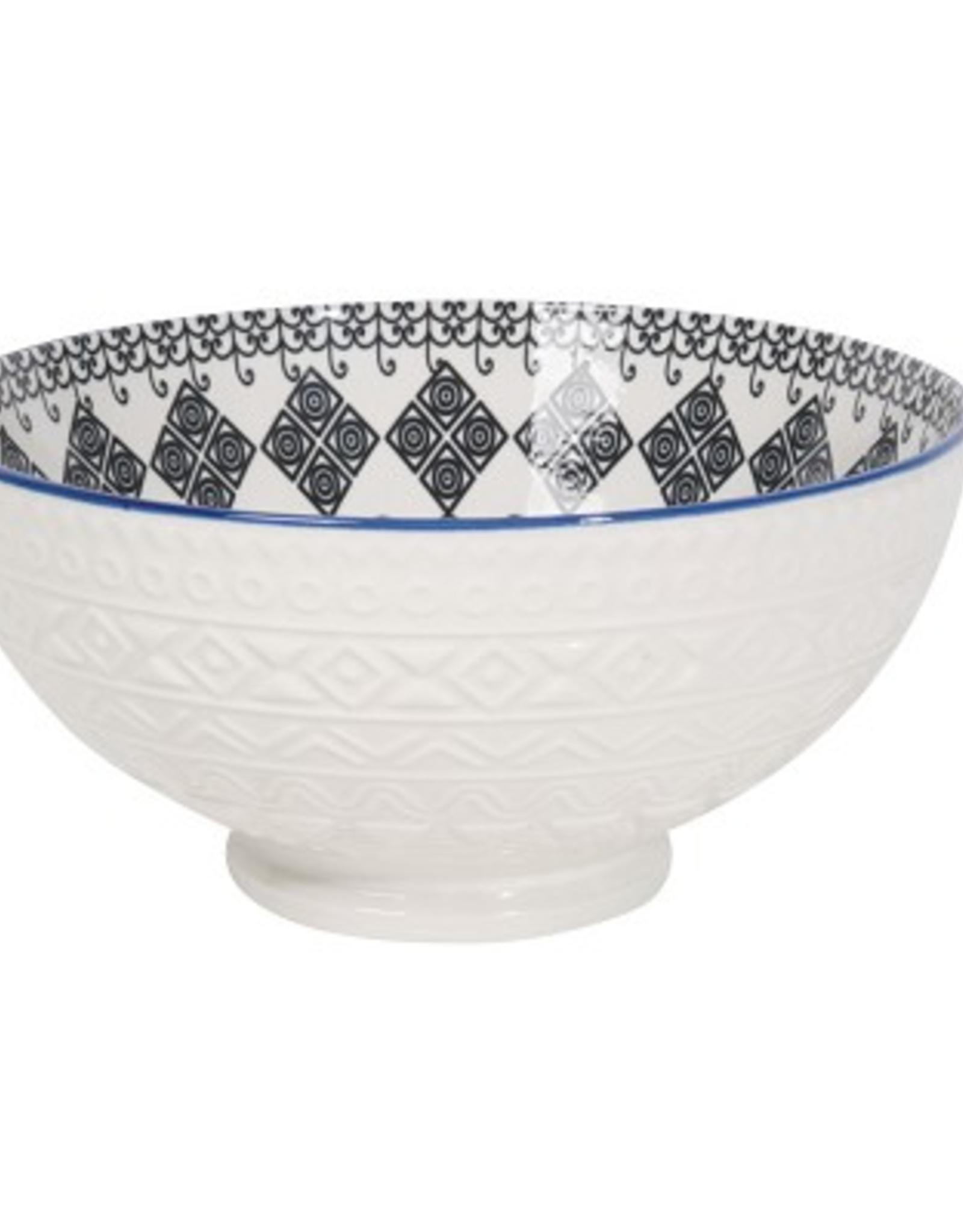 Now Designs Embossed Bowl, Casablanca 55oz